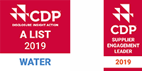 Selected CDP's Water Security A List and Supplier Engagement Leader Board