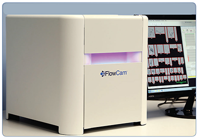FlowCam flow imaging cytometer and particle analyzer