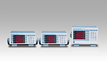 WT310 and WT330 Series Digital Power Meters From left:WT310(1ch),WT310HC(1ch,MAX 40A),WT332(2ch)/WT333(3ch)