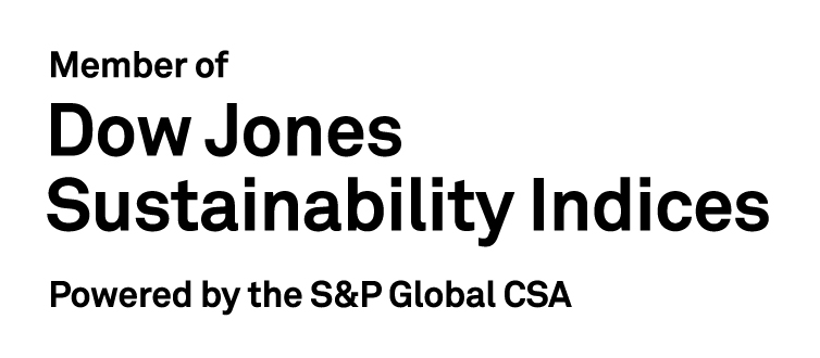 Constituent of the Dow Jones Sustainability World Index / Asia Pacific Index