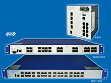 Industrial network switches