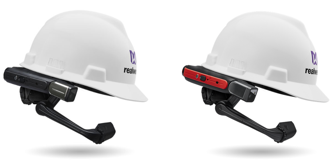 Field Assistant R2.05 now supports RealWear's HMT-1 (left) and HMT-1Z1 (right) lineup of hands-free head-mounted computers